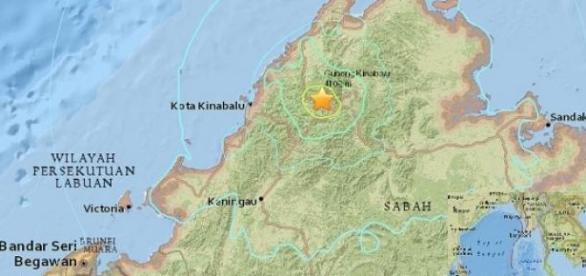 Terremoto en Malasia del 5 de junio