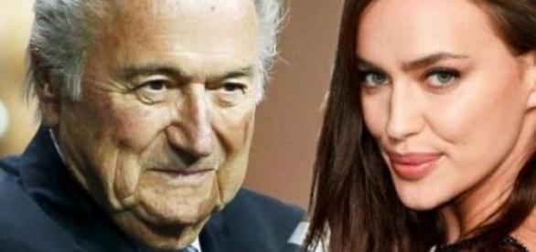 Czy Sepp Blatter miał romans z Iriną Shayk?