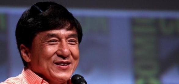 Jackie Chan na Comic Con San Diego em 2012.