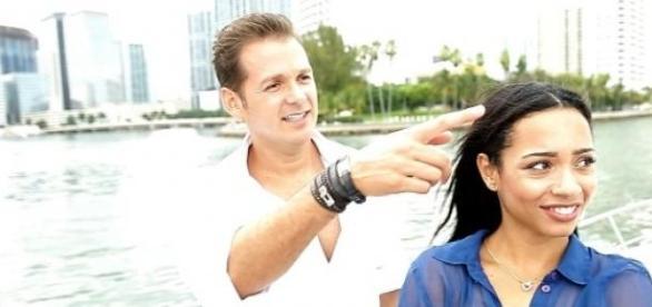 Chris Tomic (37) und Freundin Anna, Foto: RTL