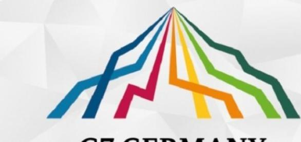 Il logo del summit del G7 2015