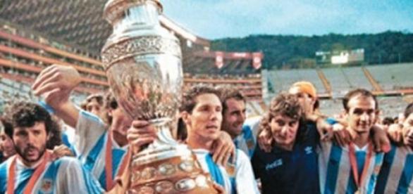 Argentina campeón de la Copa América de 1993