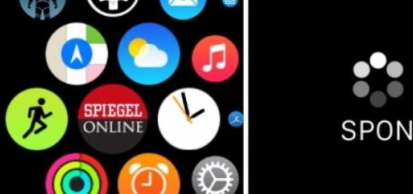 Die App von Spiegel Online auf der Apple Watch.