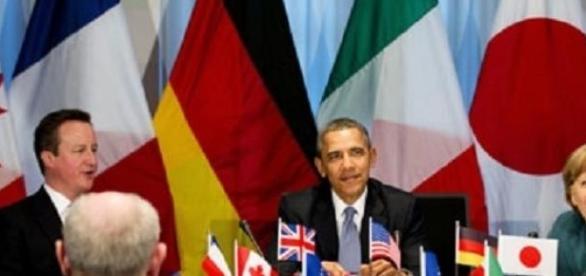 In foto, Il G7 dopo esclusione della Russia