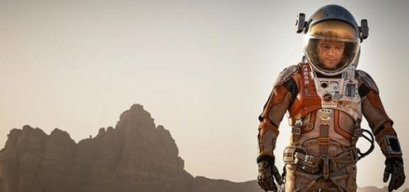Matt Damon survives the red planet in The Martian