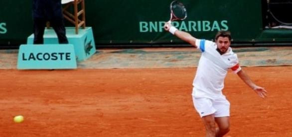 Wawrinka's backhand was potent during the final