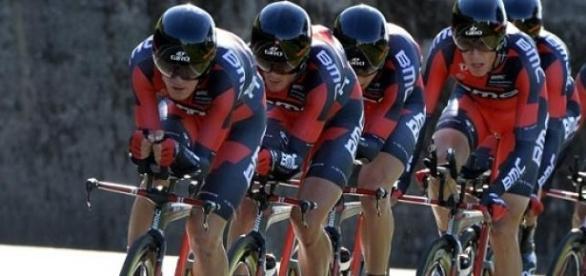 Dauphiné : la BMC gagne  le CLM par équipes