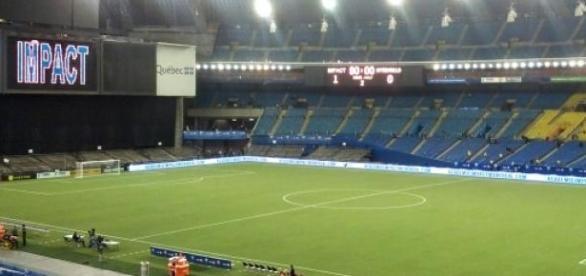 Estadio del debút de la selección