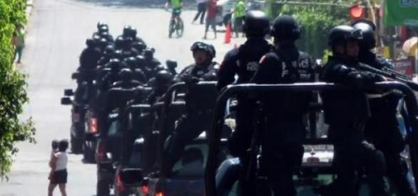 federales, policía, seguridad