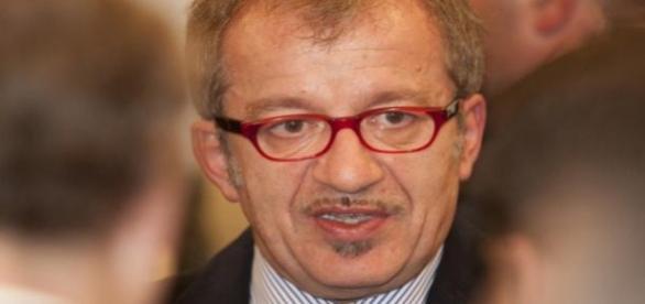 Il governatore della Lombardia Roberto Maroni