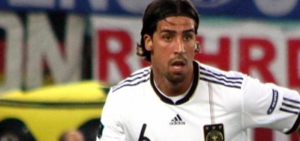 Khedira con la selección alemana.