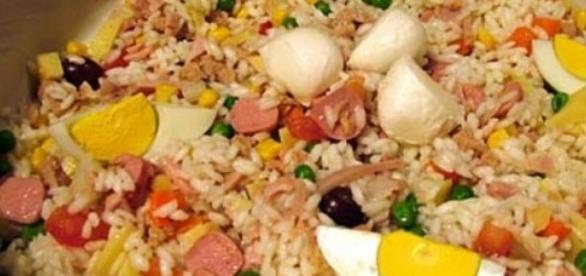 La ricetta dell'insalata di riso