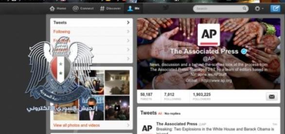 le compte Twitter de l'AP piraté par la SEA