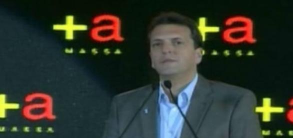 Sergio Massa, titular del Frente Renovador