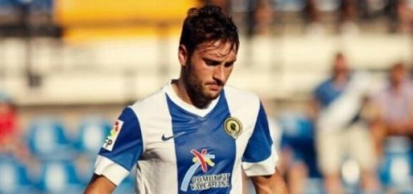 Eldin, jugador de la Unión Deportiva Almería