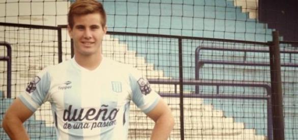Facundo Castro, juvenil de Racing cedido a Unión