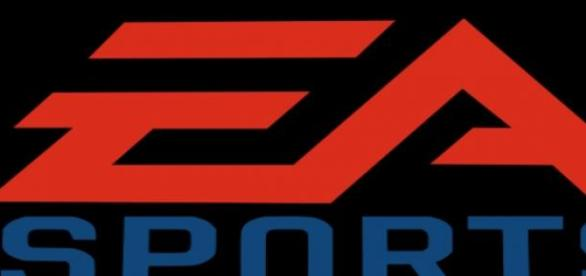 logotipo de EA sports, responsable de fifa