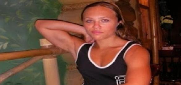 Nataliya no inicio da transformação aos 14 anos.