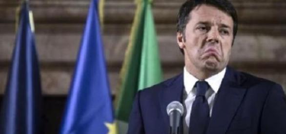 Un attapiratissimo premier Matteo Renzi