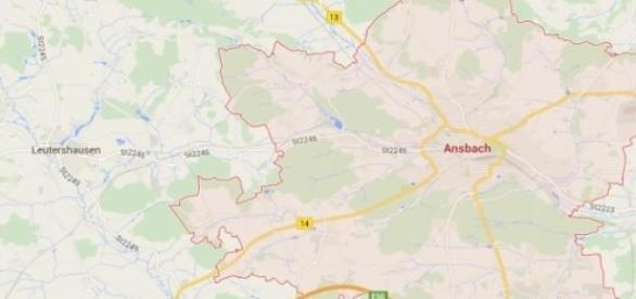 Ataque ocorreu esta manhã em Ansbach