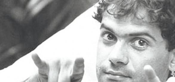 Cazuza no auge da carreira em 1985