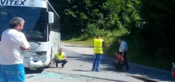 Accident grav în oraşul Anina