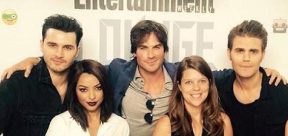 Elenco de The Vampire Diaries na Comic-Con 2015
