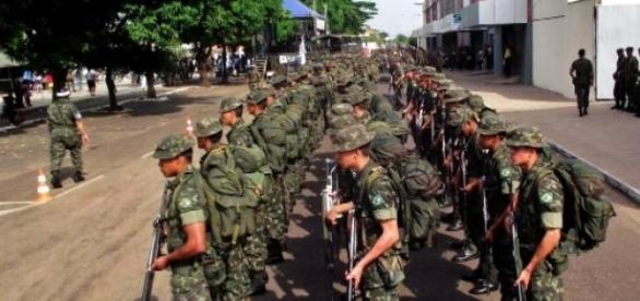 Exército abre concurso para diversas áreas