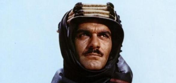 Omar Sharif em Lawrence da Arábia