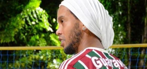 Ronaldinho Gaúcho, camisa 10 do Tricolor