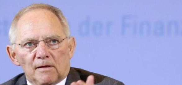 Wolfgang Schäuble , ministro delle finanze tedesco