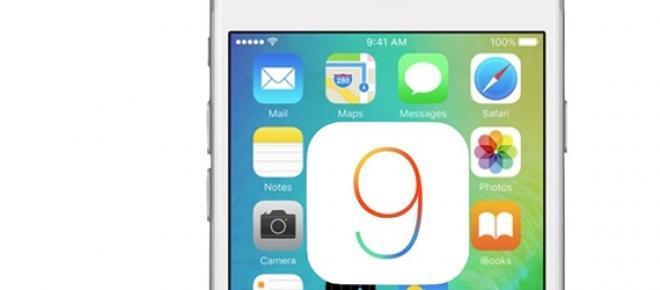 Novo iOS 9 para o iPhone e iPad