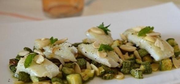 Filetti di sogliola con zucchine