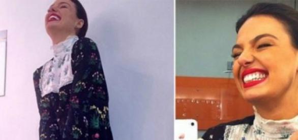 Isis Valverde e seu vestido polêmico