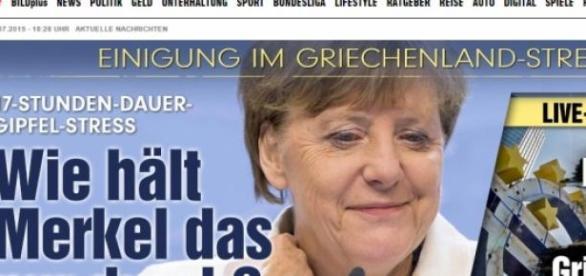 """""""Reações pela Europa"""": Bild - Alemanha"""