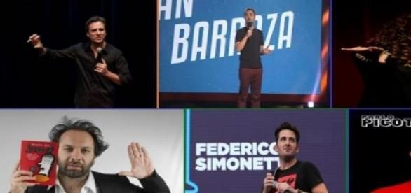 Seis humoristas y varios estilos para entretener