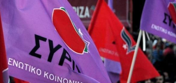 SYRIZA este o alianţă politică de extremă stângă