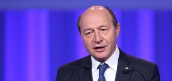 Traian Băsescu într-o luare publică de cuvânt