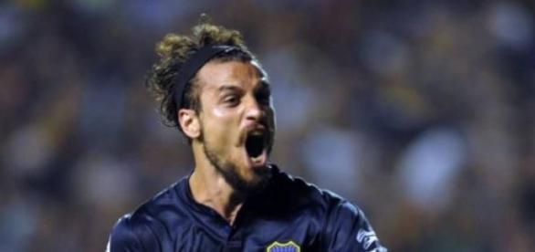 El delantero Daniel Osvaldo podría ir a Cruz Azul