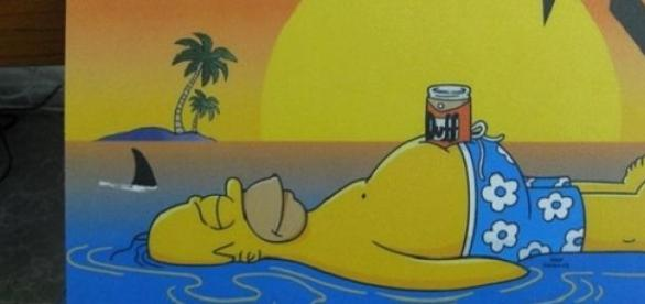 Homer's beloved Duff Beer to be sold in the shops