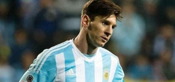 Messi la nationala Argentinei