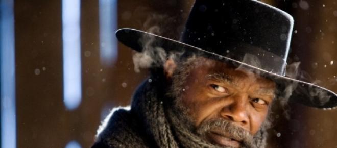 Samuel L. Jackson dans The Hateful Eight.
