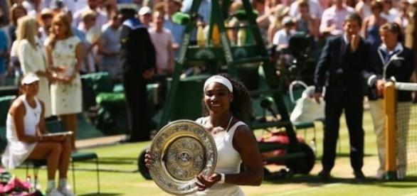 Serena Williams took another Wimbledon title