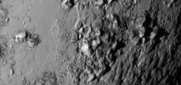Superfície de Plutão. Foto: divulgação/NASA
