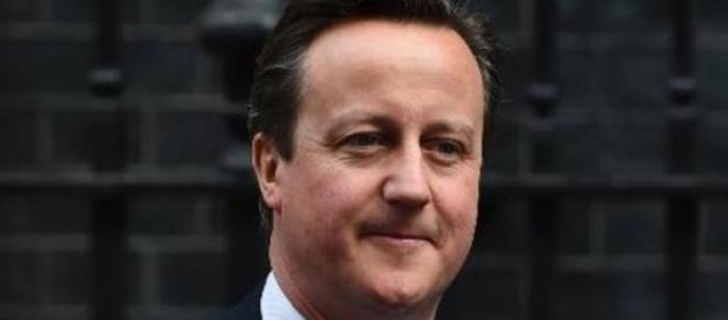 David Cameron, primeiro-ministro britânico.