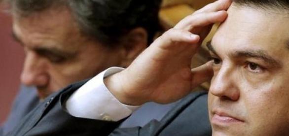 Alexis Tsipras en el Parlamento