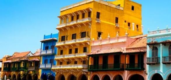 Cartagena das índias, cidade turística da Colômbia