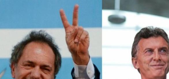 Daniel Scioli y Mauricio Macri, sus diferencias