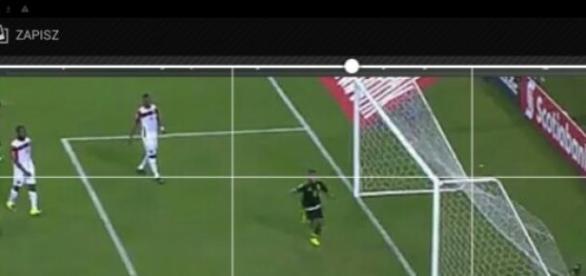 Kadr z meczu Meksyku z Trynidadem i Tobago