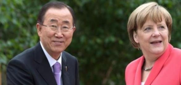 Ativistas como Merkel querem a mulher chefe na ONU